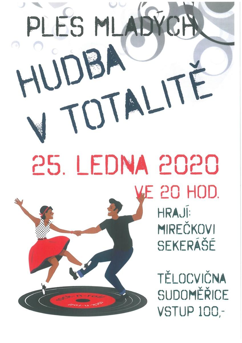 Ples mladých plakát